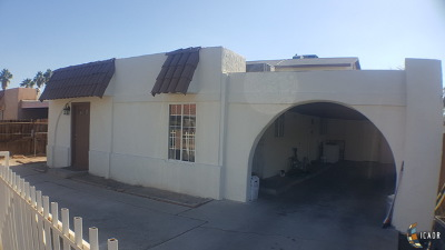 Calexico CA Single Family Home Contingent: $229,900