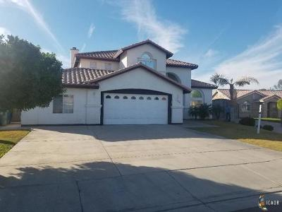 Calexico Single Family Home For Sale: 1269 Primavera Ct