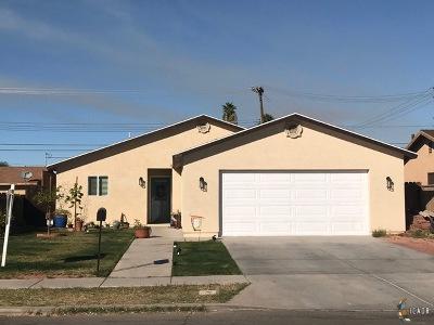El Centro Single Family Home Contingent: 836 W Brighton Ave