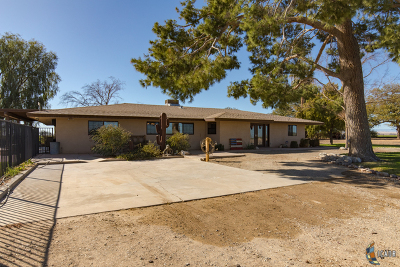 Brawley Single Family Home For Sale: 4705 Forrester Rd