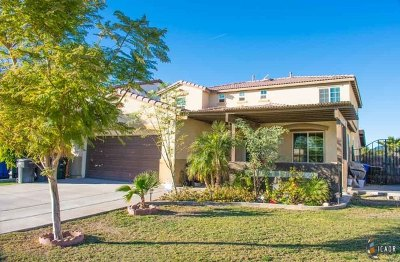 El Centro Single Family Home For Sale: 1318 Valleyview Ave