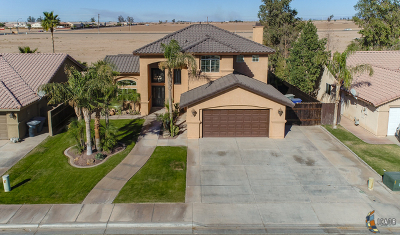 Calexico Single Family Home For Sale: 1131 Meadow Dr