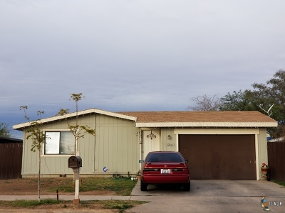 El Centro Single Family Home For Sale: 1214 N 18th St
