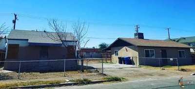 El Centro Single Family Home For Sale: 1275 El Centro Ave