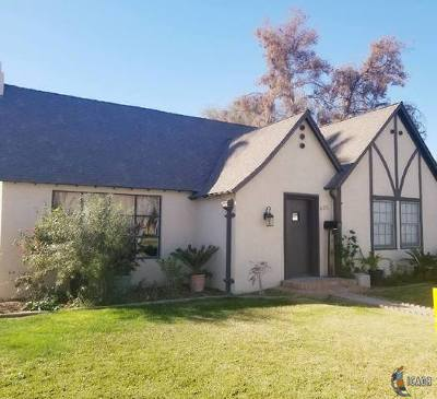 El Centro Single Family Home For Sale: 625 Sandalwood Dr