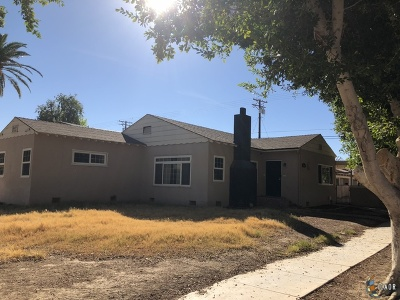 Brawley Single Family Home For Sale: 376 Ea J St