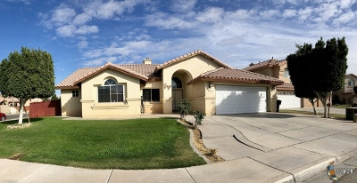 Calexico CA Single Family Home For Sale: $295,000