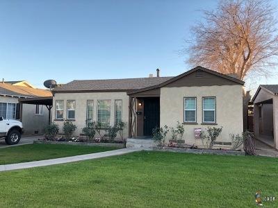 Brawley Single Family Home For Sale: 256 W We K