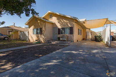 Brawley Single Family Home For Sale: 435 N Imperial Ave