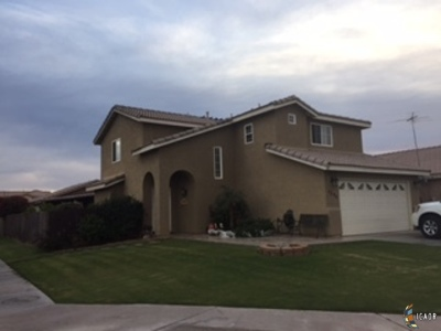 Calexico CA Single Family Home For Sale: $279,999
