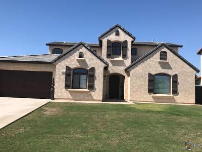 El Centro Single Family Home For Sale: 910 Glenwood Dr