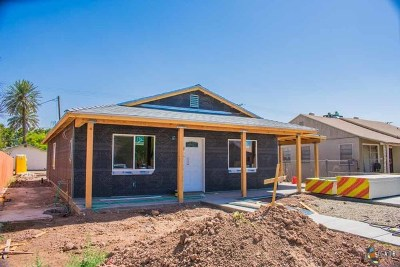 El Centro Single Family Home For Sale: 571 Vine St