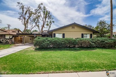 El Centro Single Family Home Contingent: 731 Desert Gardens Dr