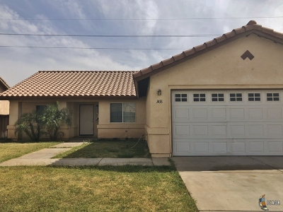 Calexico Single Family Home Contingent: 1416 Johnson St
