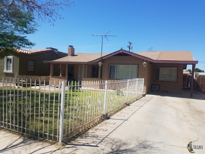 El Centro Single Family Home For Sale: 426 W Lenrey Ave