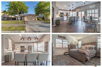El Centro Single Family Home For Sale: 287 Foxtrail Dr