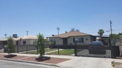 El Centro Single Family Home For Sale: 155 W Holt Ave