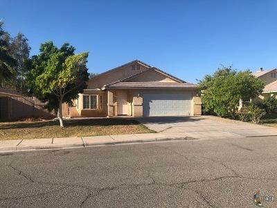Imperial Single Family Home For Sale: 225 San Felipe Dr