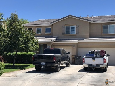 Brawley Single Family Home For Sale: 856 Corral Ct