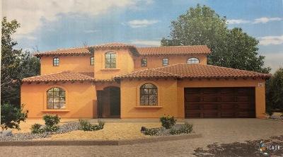 El Centro Single Family Home For Sale: 2041 Chaparral Cir