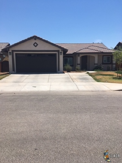 Brawley Single Family Home For Sale: 920 S 2nd St