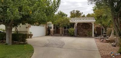 Brawley Single Family Home For Sale: 448 Willard Ave