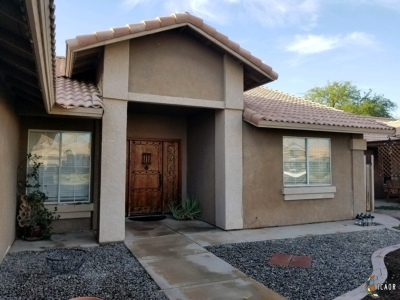 Imperial Single Family Home For Sale: 675 Yucca St