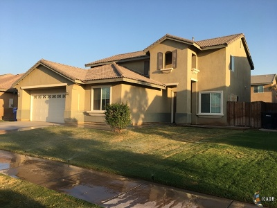 El Centro Single Family Home For Sale: 139 Countryside Dr