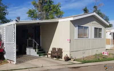 El Centro Mobile Home For Sale: 1710 W Euclid Ave #6