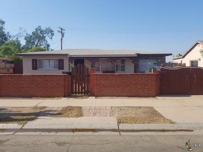 El Centro Single Family Home For Sale: 1543 W Hamilton Ave