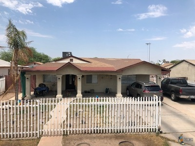 Calexico Single Family Home For Sale: 1125 E 2nd St