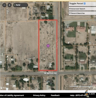 Imperial Residential Lots & Land For Sale: 604 W Belford Rd