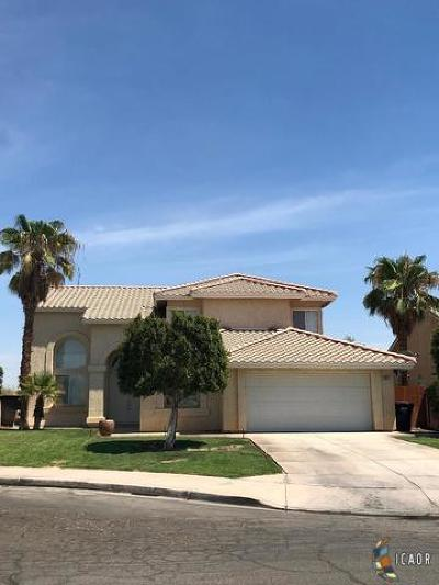 El Centro Single Family Home For Sale: 2257 S 10th St