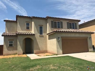 Imperial CA Single Family Home For Sale: $275,000