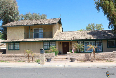 Brawley Single Family Home For Sale: 285 Riverwood Dr