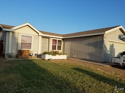 Brawley Single Family Home For Sale: 332 N Jacaranda St