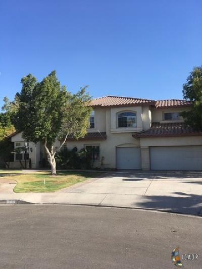 Calexico Single Family Home For Sale: 1092 Colorado Dr
