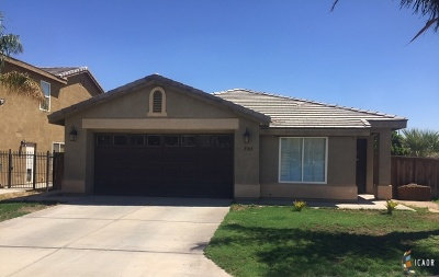 Imperial CA Single Family Home Contingent: $215,000