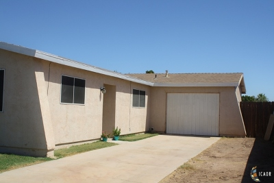 El Centro Single Family Home For Sale: 1219 N 18th St