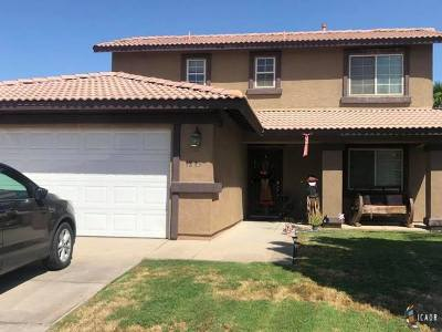 Calexico Single Family Home For Sale: 1213 7th St #1