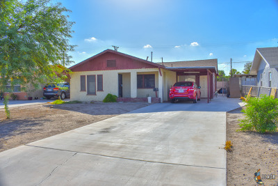 Imperial CA Single Family Home For Sale: $175,000