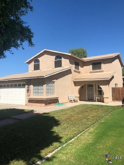 El Centro Single Family Home For Sale: 2480 W Brighton Ave