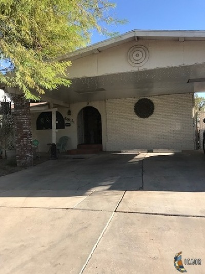 El Centro Single Family Home For Sale: 683 W Heil Ave