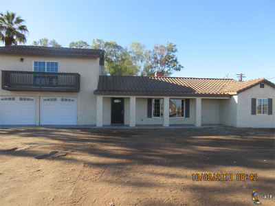 Holtville Single Family Home For Sale: 1705 Haven Rd