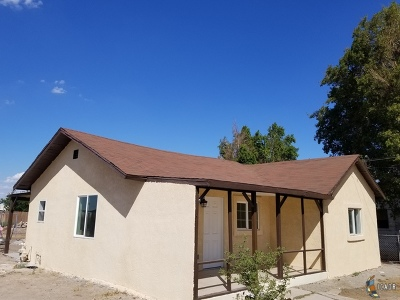 Brawley Single Family Home For Sale: 1541 E A St