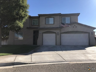 Brawley Single Family Home For Sale: 908 Arroyo Ct