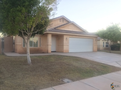 El Centro Single Family Home For Sale: 225 San Felipe Dr