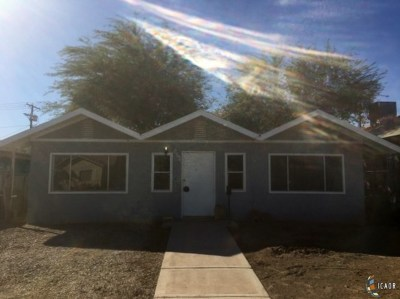 El Centro Single Family Home For Sale: 629 W Heil Ave