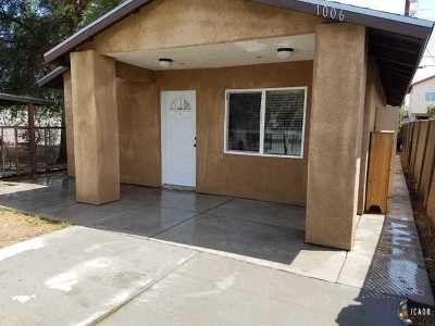 Calexico Multi Family Home For Sale: 1006 E Sherman St #2