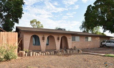 Brawley Single Family Home For Sale: 1160 River Dr